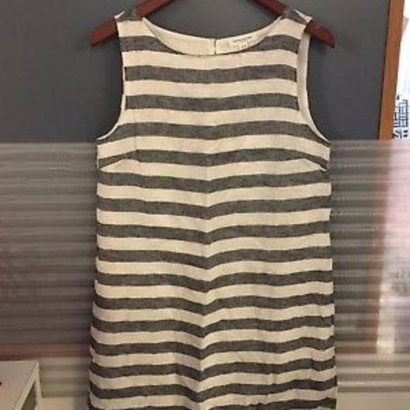 aecedd4ba9 beachlunchlounge Dresses | Alina Linen Blend Dress Size M | Poshmark